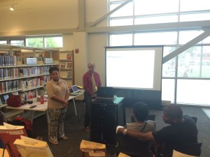 A meeting was held at Rosedale Library on August 11, in order to introduce the program that is presented by Children of Imprisoned Parents International (COIPI)