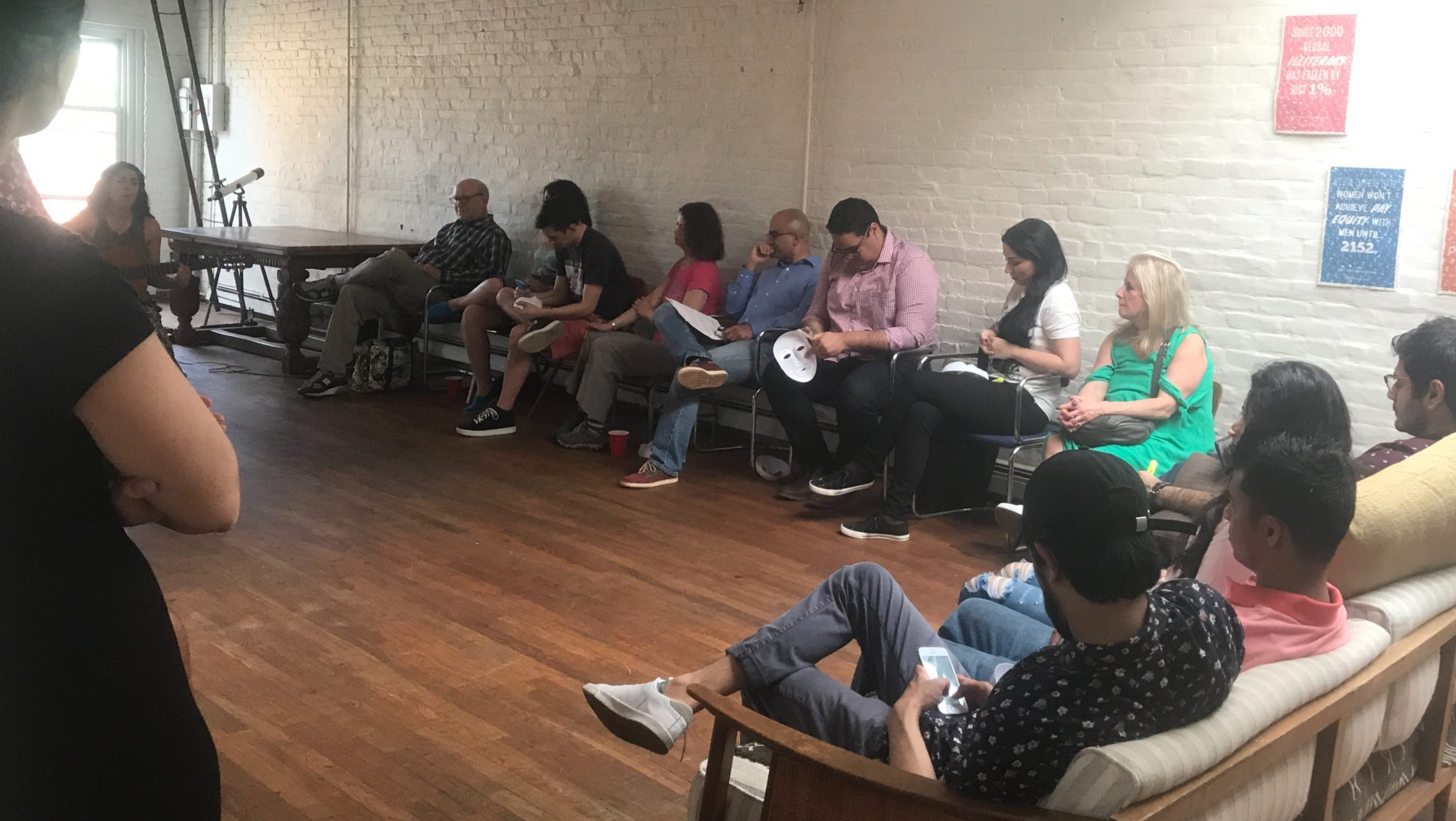 THE STORYTELLING SHOWCASE THAT PROFILES THE LONGING OF IMMIGRANTS